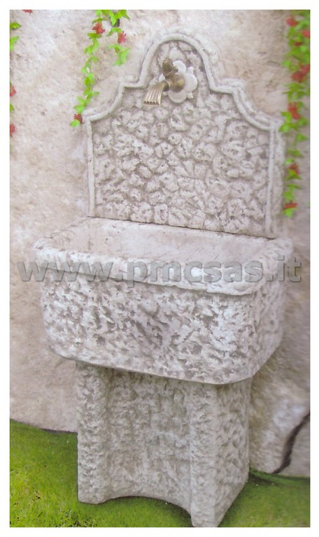 vasca lavapanni - pmc prefabbricati e arredo giardino