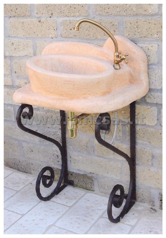 Lavandini da esterno pmc prefabbricati e arredo giardino - Lavandini in pietra per esterno ...