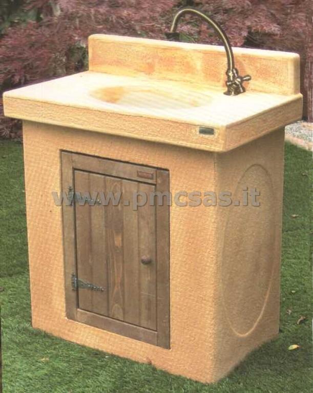 Lavabo da giardino prezzi design casa creativa e mobili - Lavandino in pietra per esterno ...