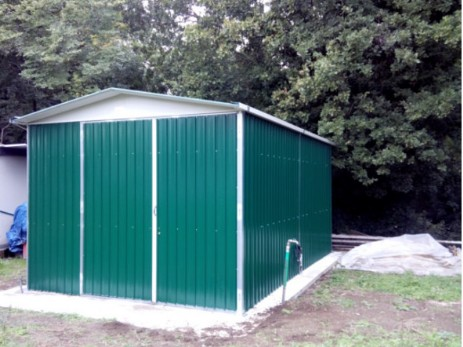 Lamiera Arredamento : Box lamiera pmc prefabbricati e arredo giardino
